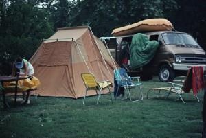 Camping life plan ahead