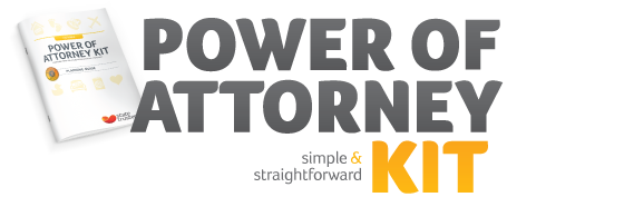 Power of Attorney Kit only $31.50