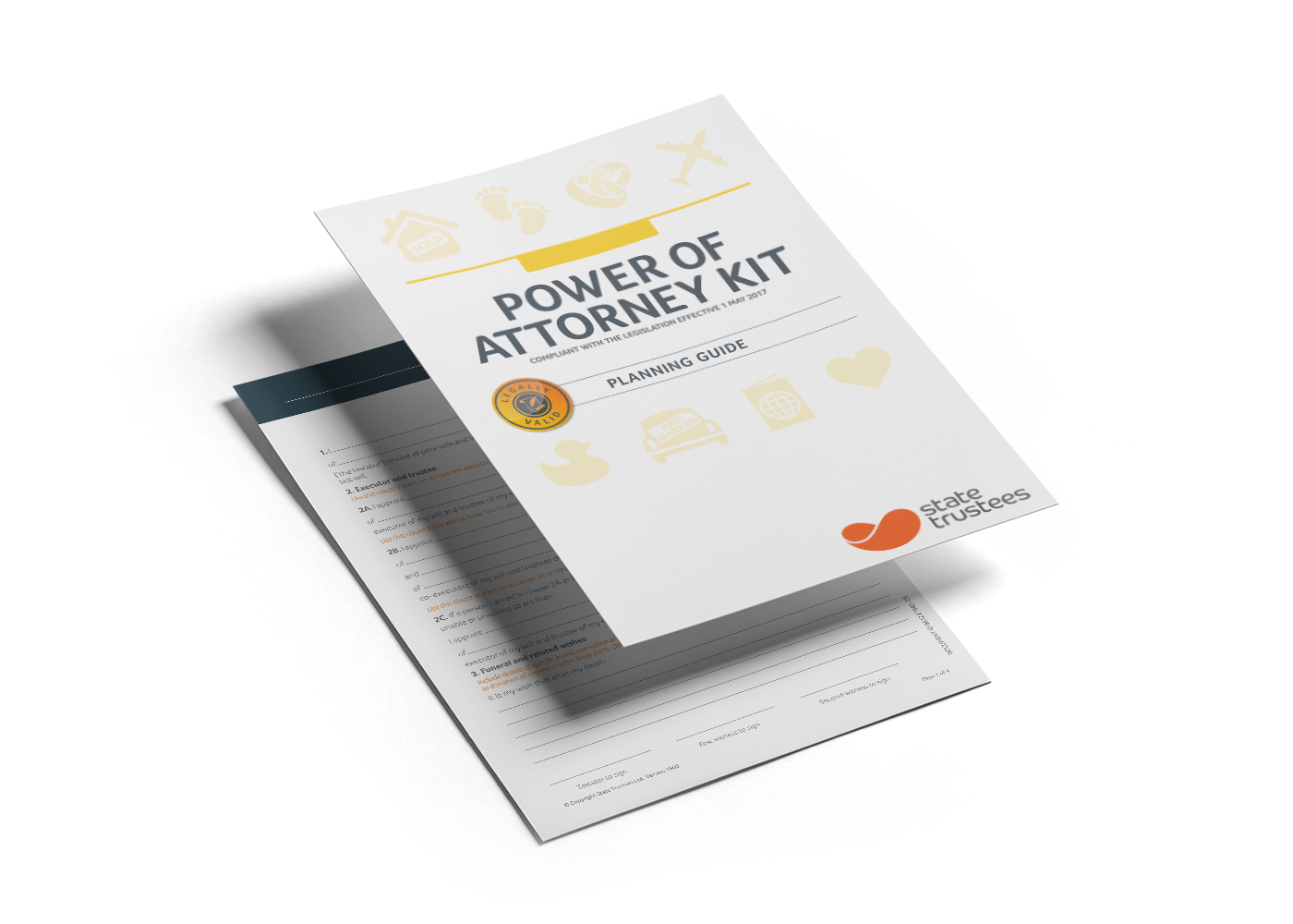 Do it yourself with a Power of Attorney Kit - State Trustees VIC