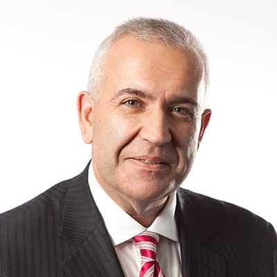 John Velegrinis, Interim Chief Executive Officer